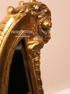 Harfe als Standspiegel Spiegek Art Deco Stil Barock gold farbend - Vorschau 3