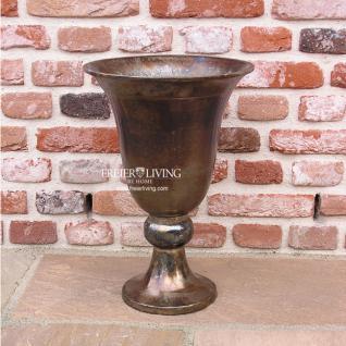 Aluminum Vase Gefäs Impressionen Landhausstil Deko