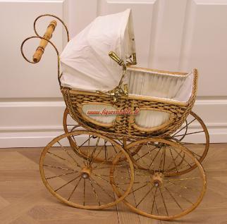 20er Jahre Puppenwagen Deko Bidermeier Barock Kinderwagen