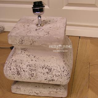 keramik lampenfu tischleuchte shabby chic imressionen dekoleuchte kaufen bei helga freier. Black Bedroom Furniture Sets. Home Design Ideas