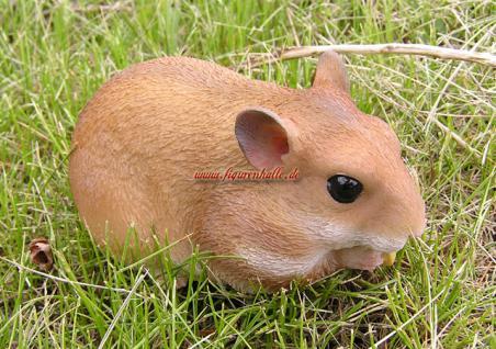 Hamster Figur Skulptur Haustier Deko Fan Artikel - Vorschau 1