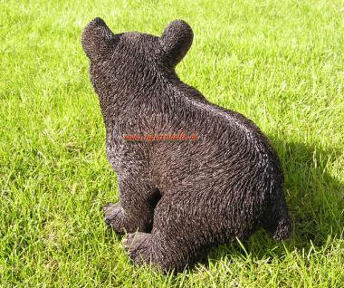 Amerikanischer Schwarzbär Bär Figur Statue Skulptur Fan Artikel - Vorschau 4