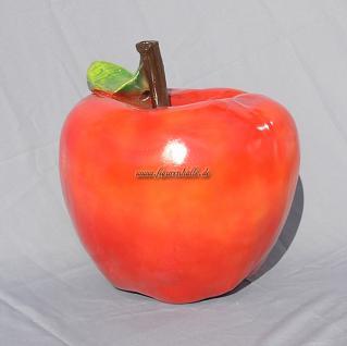 Apfel rot oder grün Werbefigur Figur Statue
