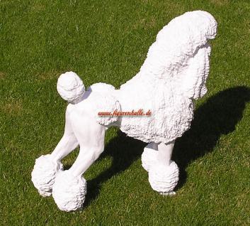 Großpudel Pudel Figur Statue Skulptur Fan Artikel - Vorschau 4