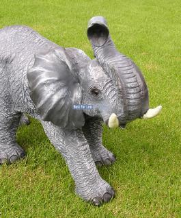 Elefant Figur Statue Dekofigur Werbefigur Afrika - Vorschau 1