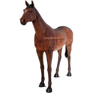 Lebensgroßes Pferd Lebensgroß Dekofigur Figur
