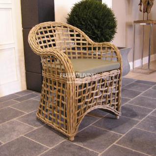 korbsessel rattan stuhl im landhausstil maritimen m bel kaufen bei helga freier. Black Bedroom Furniture Sets. Home Design Ideas
