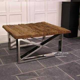 Treibholz Couchtisch Schwemmholz Tisch Massivholz Wohnzimmertisch Möbel Deko - Vorschau 2