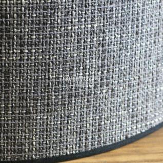 Lampenschirm rund E27 schwarz grau - Vorschau 3