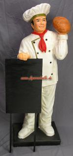 Bäcker Werbefigur Werbeaufsteller Figur Backstube - Vorschau 1