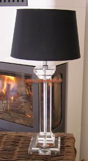 Glas Lampenfuß Deko Tischlampe - Vorschau 1