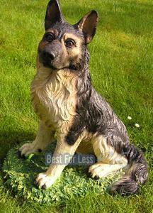 Deutscher Schäferhund Dekofigur Statue Figur - Vorschau 2