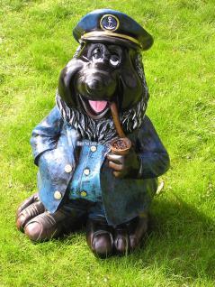 Maulwurf als Kapitän Seefahrer Dekofigur Figur - Vorschau 1