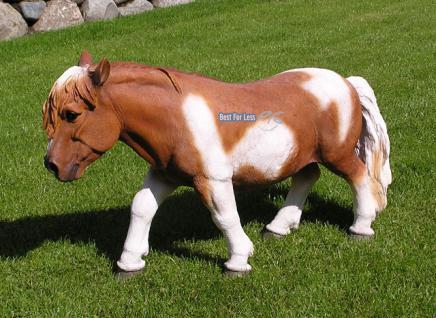 Pferd Dekofigur Pony Figur Reiterhof - Vorschau 1