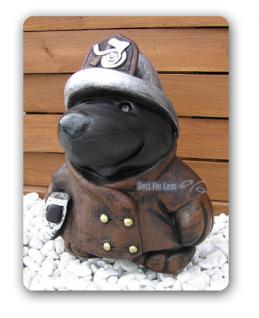 Maulwurf als Feuerwehrmann Figur Statue Dekoration - Vorschau 2