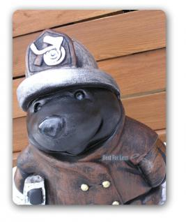 Maulwurf als Feuerwehrmann Figur Statue Dekoration - Vorschau 4