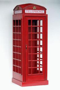 Englische Telefonzelle Statue 228 cm