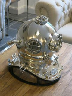 Maritimer Antik Optik Taucherhelm als Dekostück