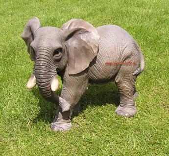 Elefant Figur Statue Dekofigur Werbefigur Afrika