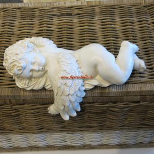 Engel Schlafend Figur Dekofigur Statue Skulptur