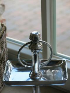 Tisch Etagere Bad Wc Aluminium Deko Home Interiors Landhausstil - Vorschau 2