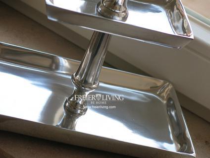 Tisch Etagere Bad Wc Aluminium Deko Home Interiors Landhausstil - Vorschau 3