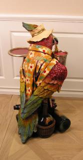 Hawaii Papagei Butler Beachparty Bar Kneipe Deko Figur Statue - Vorschau 4