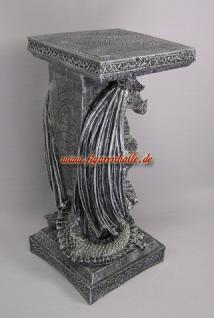 Drachen Drachentisch Wohnzimmertisch Couchtisch Beistelltisch Figur Statue - Vorschau 4