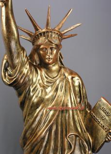 Freiheitsstatue Liberty Figur Lampe Stein optik - Vorschau 2