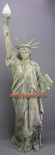 Freiheitsstatue Liberty Figur Lampe Stein optik - Vorschau 1
