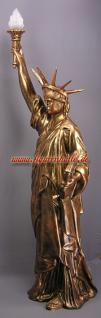 Freiheitsstatue Liberty Figur Lampe Stein optik - Vorschau 3