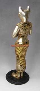 gyptische katze bastet gypten statue figur deko kaufen. Black Bedroom Furniture Sets. Home Design Ideas