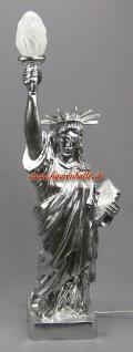 Freiheitsstatue Statue Of Liberty silber Chrom Lackierung Figur USA Deko - Vorschau 1