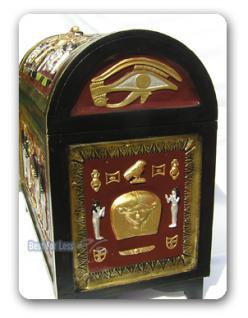 Ägyptische Truhe als Dekoration Figur Deko Möbel - Vorschau 4