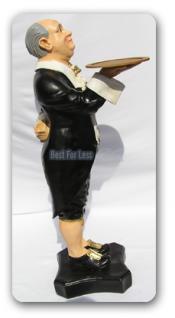 Butler als Aufstellfigur Werbefigur Statue - Vorschau 3