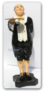 Butler als Aufstellfigur Werbefigur Statue - Vorschau 2