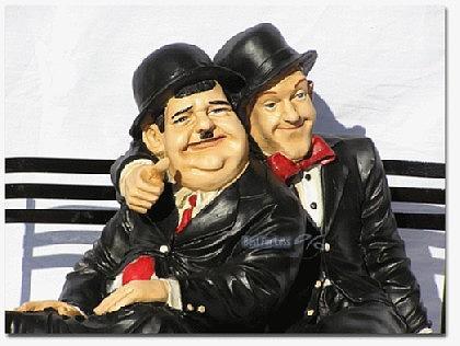 Dick und Doof Stan Laurel Oliver Hardy Figur - Vorschau 2