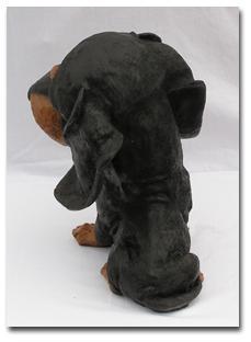 Dackel Dekofigur Tierfigur Deutscher Hunde Figur - Vorschau 4