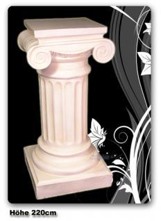 Grichische Deko-Säule in antik weiß