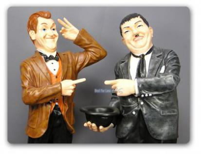 Dick und Doof Stan Laurel Oliver Hardy Dekofigur