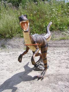 Velociraptor Rex Dino Park Figur Werbefigur Statue Skulptur Deko - Vorschau 3