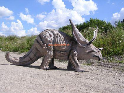 Triceratops Figur Dinosaurier Dino Statue Lebensgroß