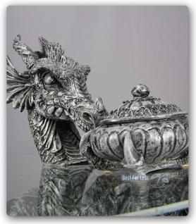 Drachentisch Dekofigur Drachen Figur Deko Tisch - Vorschau 2