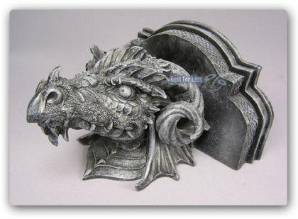 Drachenwandbord im Gothic Style Figur Statue