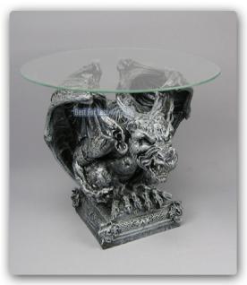 Drachen Tisch Couchtisch Düsterer Style