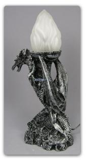 Drachenlampe - Drachenfigur Drachen Lampe - Vorschau 1