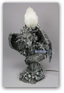 Drachenlampe - Drachenfigur Drachen Möbel Figur - Vorschau 1