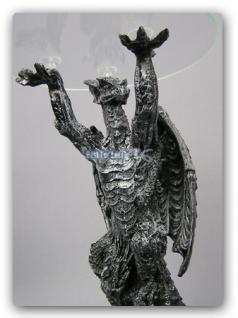 Drachentisch Dekofigur Drachen Figur - Vorschau 1