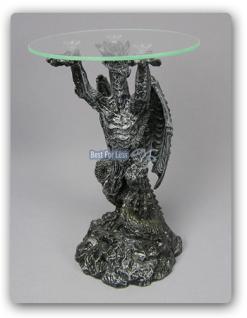 Drachentisch Dekofigur Drachen Figur - Vorschau 2