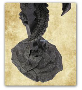 Drachen Stehlampe Lampe Figur Statue Deko - Vorschau 5